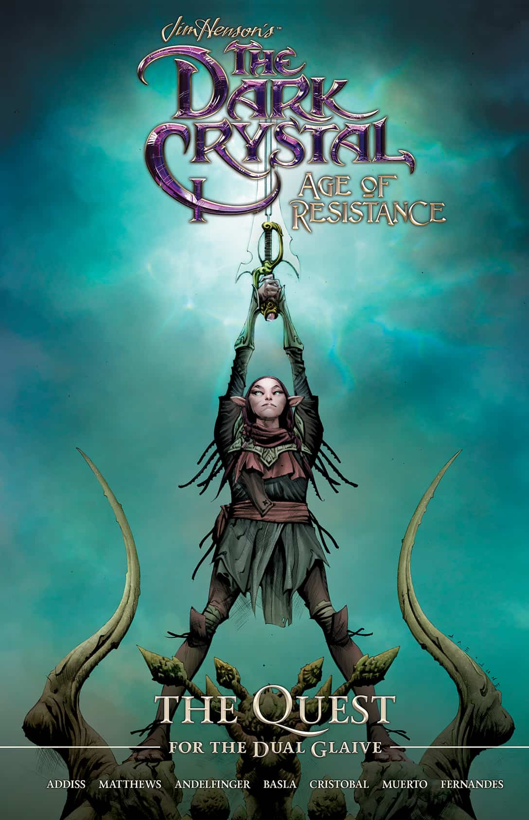 Jim Henson's The Dark Crystal: Age of Resistance: The Quest for the Dual Glaive HC