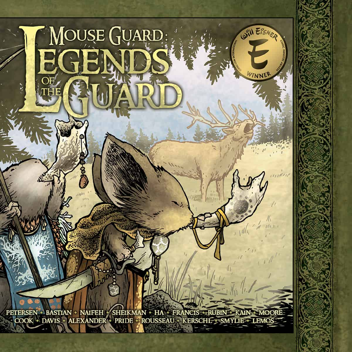 Mouse Guard: Legends of the Guard Vol 1