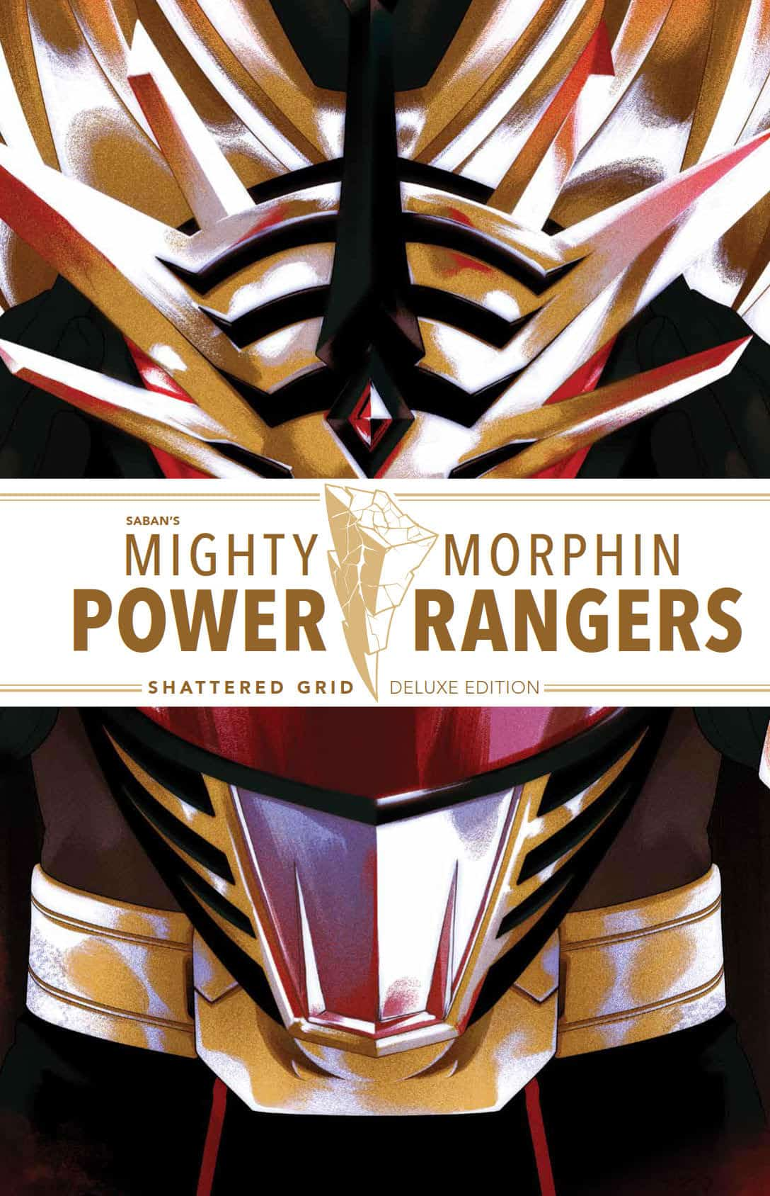 Mighty Morphin Power Rangers: Shattered Grid Deluxe Edition HC