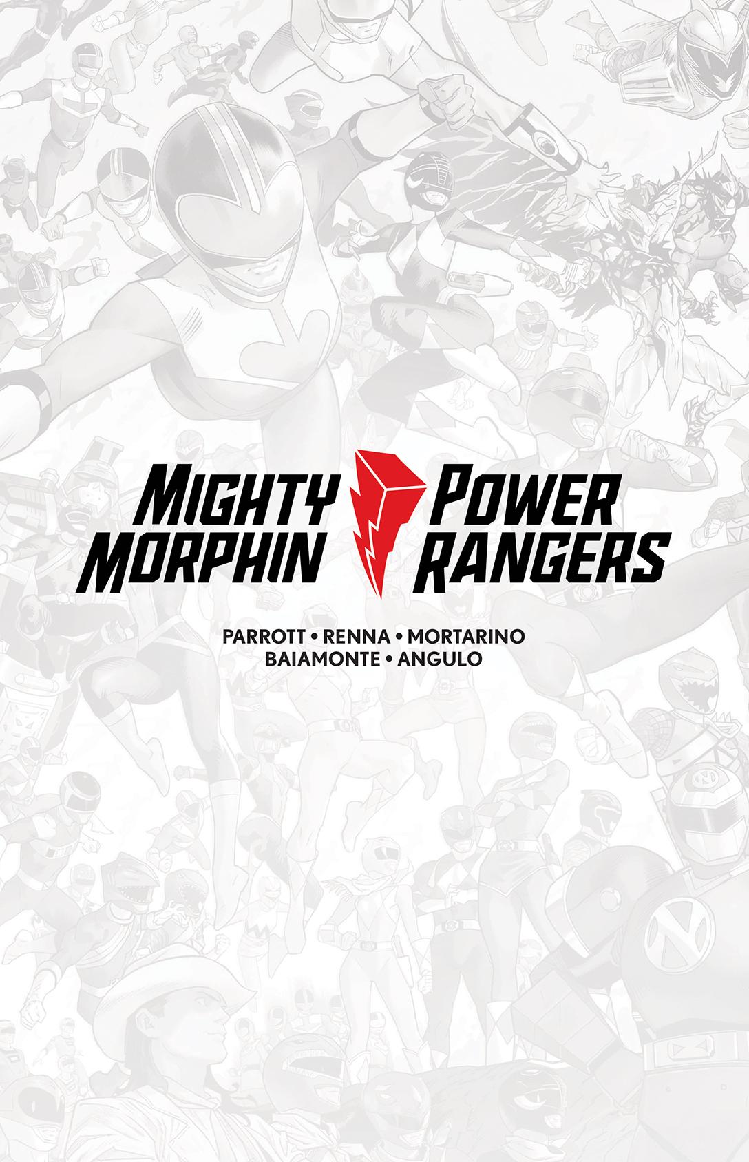 Mighty Morphin / Power Rangers #1 HC