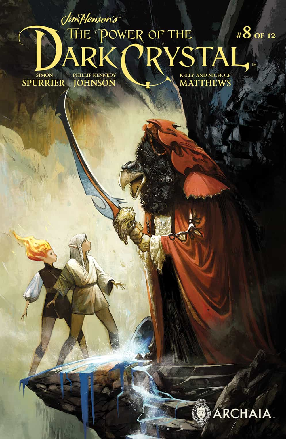 The Power of the Dark Crystal #8 (of 12)