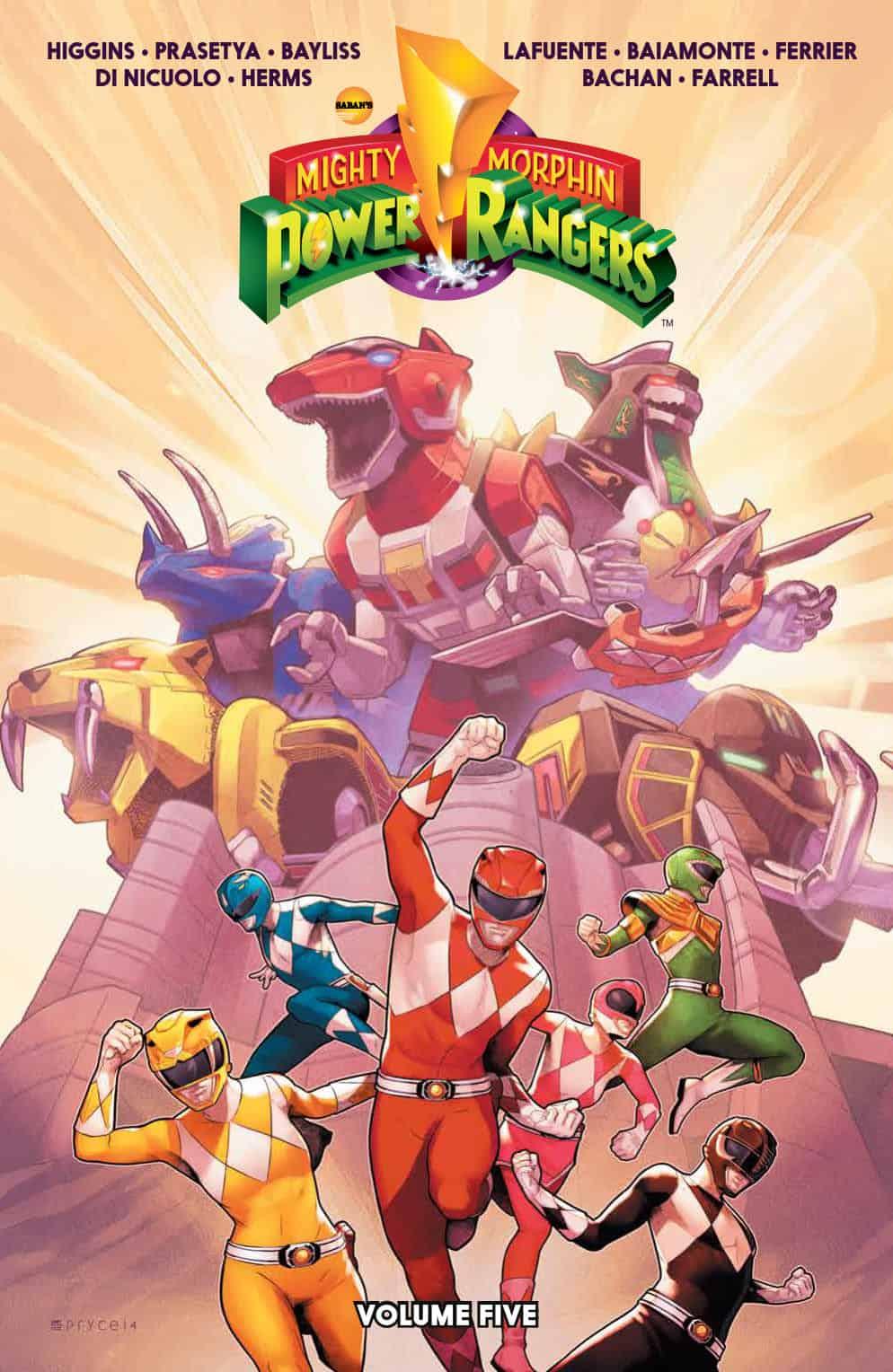 Mighty Morphin Power Rangers Vol. 5 SC