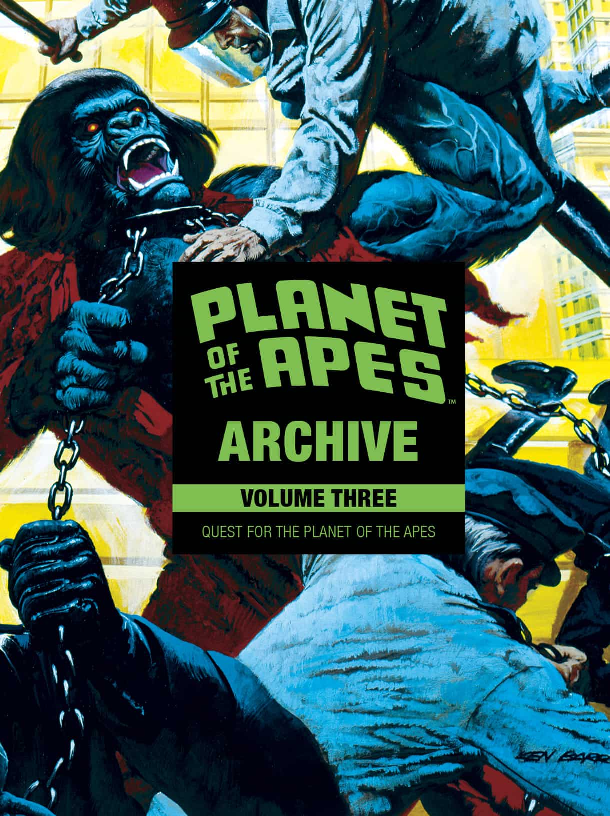 Planet Of The Apes Archive Vol. 3: Quest For The Planet Of The Apes HC