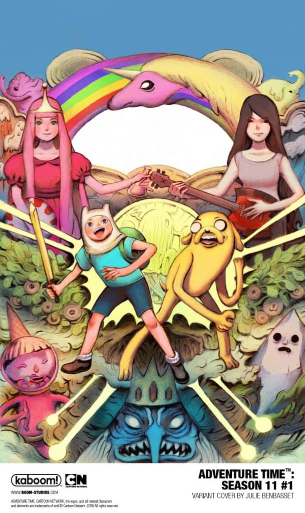 A modern day fable, the Emmy® Award–winning animated series Adventure Time  has become a global success since its premiere in 2010, attracting adult  and kid ...