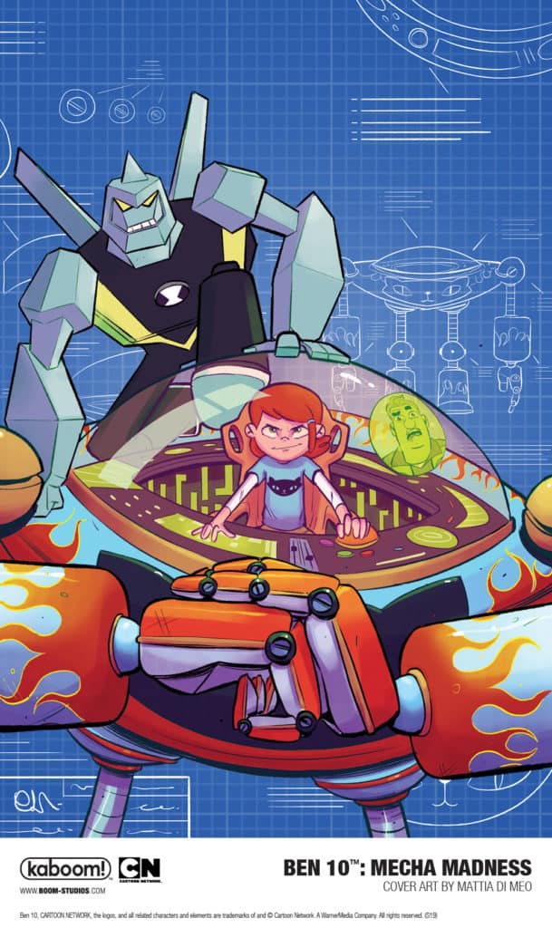 Boom Studios And Cartoon Network Announce Ben 10 Mecha Madness Original Graphic Novel