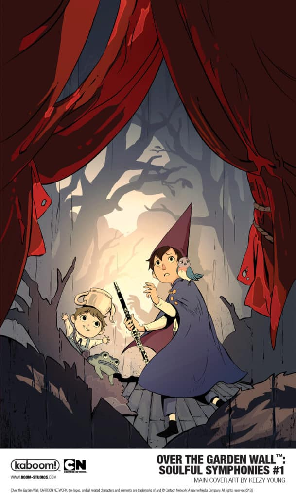 Boom Studios Announces New Series Over The Garden Wall Soulful