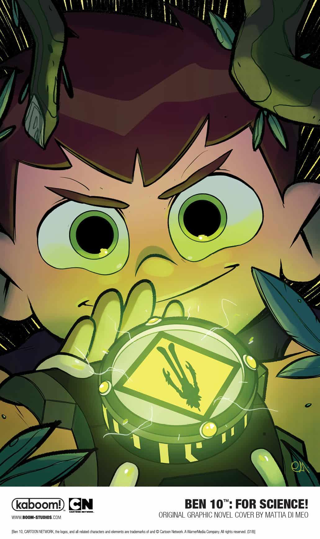 BEN 10™: FOR SCIENCE! Original Graphic Novel New Look